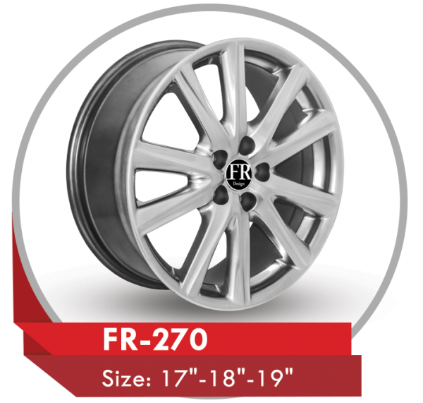 FR-270 ALLOY WHEEL FOR LEXUS GS CARS