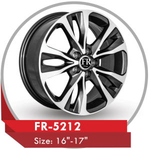 FR-5212 ALLOY WHEEL FOR TOYOTA COROLLA CARS