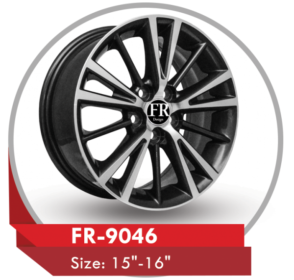 FR-9046 ALLOY WHEEL FOR TOYOTA COROLLA