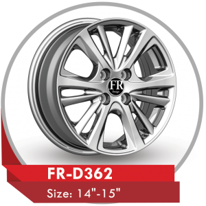 FR-D362 ALLOY WHEEL FOR TOYOTA YARIS
