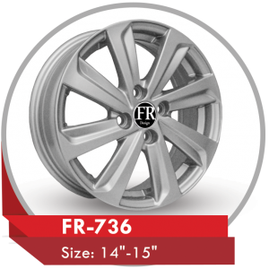 FR-736 ALLOY WHEEL FOR TOYOTA COROLLA