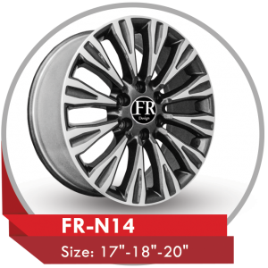 FR-N14 ALLOY RIM FOR NISSAN PATROL PLATINUM 2020 SUV