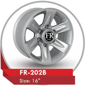 FR-202B ALLOY WHEEL FOR NISSAN PATROL VTC
