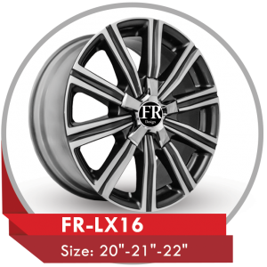 FR LX16 ALLOY WHEEL FOR LEXUS CARS