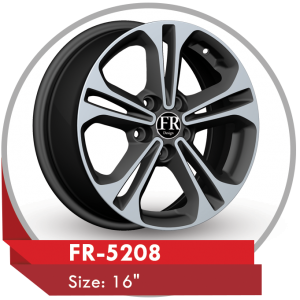 FR-5208 ALLOY WHEELS FOR KIA CERATO