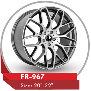 FR-967 ALLOY RIMS FOR MERCEDES