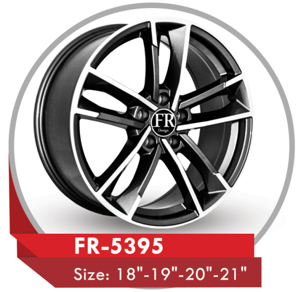 FR-5395 ALLOY RIMS FOR AUDI CARS