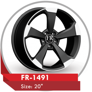 FR-1491 ALLOY RIMS FOR AUDI