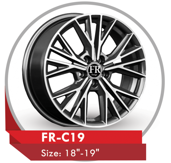 FR-C19 ALLOY RIMS FOR AUDI