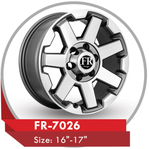 FR 7026 ALLOY WHEEL FOR TOYOTA FJ CRUISER CARS