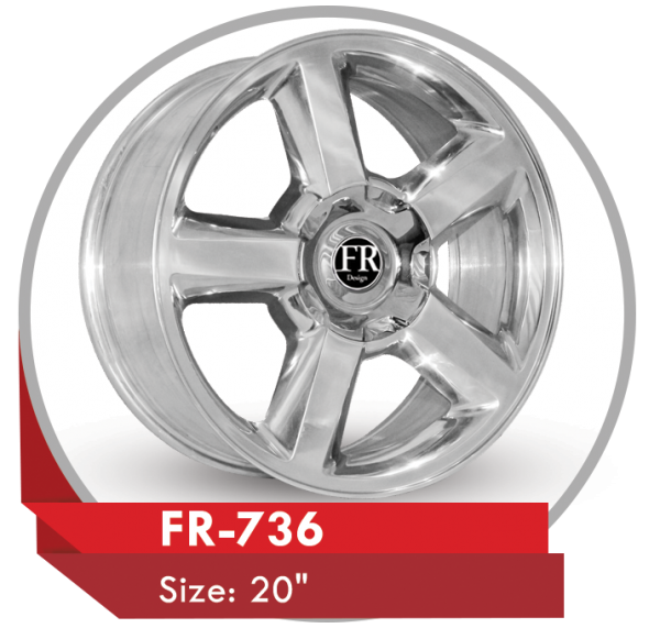 FR-736 ALLOY WHEELS FOR TAHOE SUV CARS