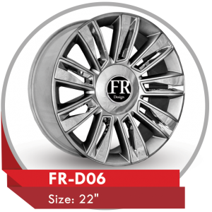 FR-D06 CHROME RIMS FOR CADILLAC ESCALADE