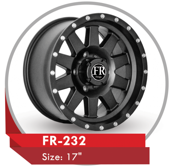 FR-232 AFTER-MARKET ALLOY WHEELS