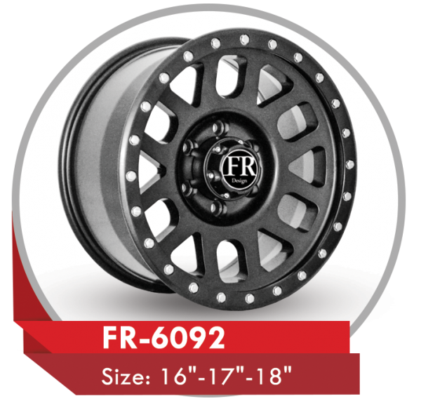 "FR-6092 AFTER MARKET ALLOY WHEEL Sizes: 17"" GRAY"