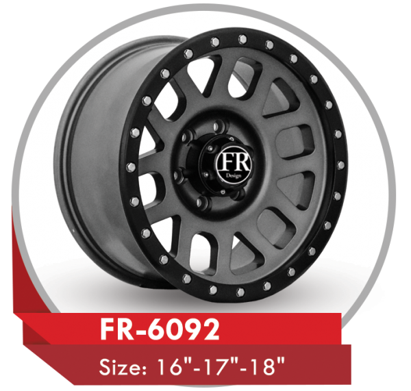 FR-6092 AFTER MARKET ALLOY WHEEL Sizes: 17""