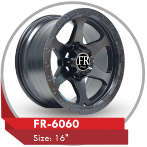 FR-6060 AFTERMARKET ALLOY WHEELS in Abu Dhabi Dubai Sharjah UAE, GCC & Mideast