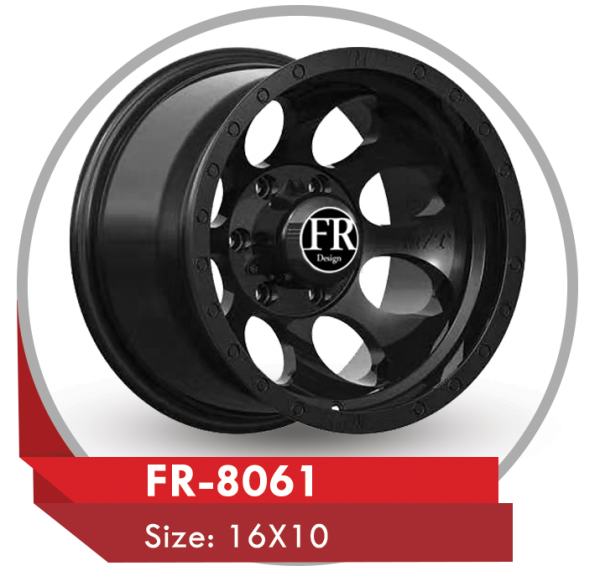 FR-8061 AFTERMARKET ALLOY WHEELS 6x139 in Dubai Sharjah