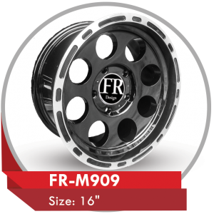 FR-M909 AFTERMARKET ALLOY WHEELS & TYRES in Dubai UAE