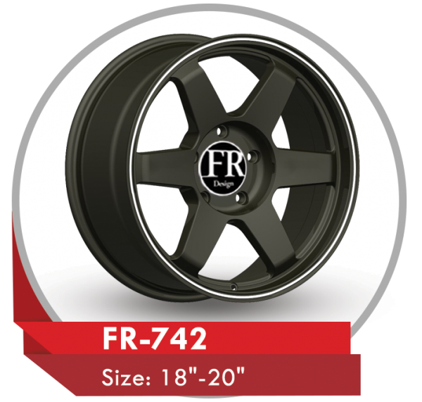 FR-742 AFTERMARKET ALLOY WHEELS BLACK