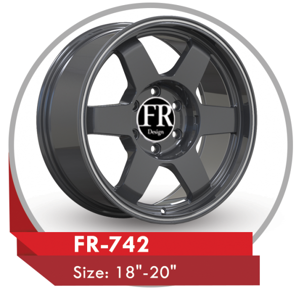 FR-742 AFTERMARKET ALLOY WHEELS GRAY