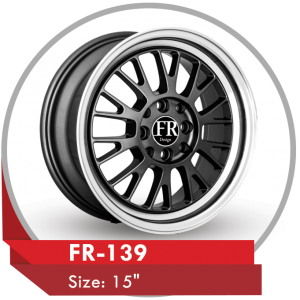 FR-139 AFTERMARKET ALLOY WHEELS