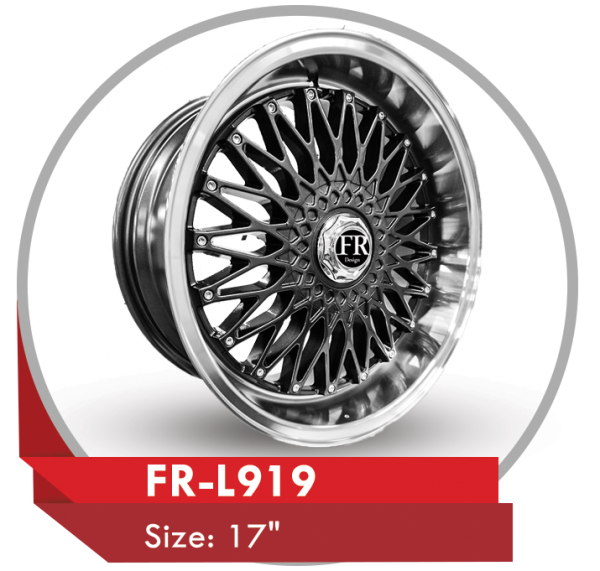 FR-L919 CUSTOM DESIGN ALLOY WHEELS