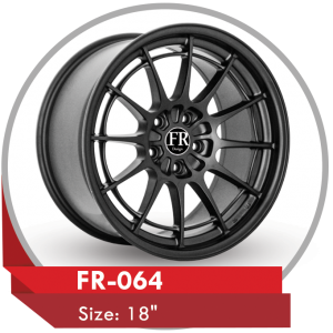 FR-064 CUSTOM DESIGN 18 INCH ALLOY WHEELS
