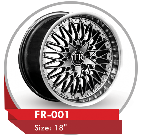 FR-001 CUSTOM WHEELS