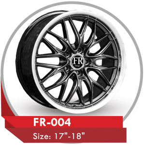 FR-004 CUSTOM DESIGN 17 & 18 INCH ALLOY WHEELS