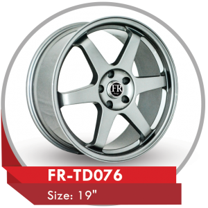 FR-TD076 CUSTOM DESIGN 19 INCH ALLOY WHEELS