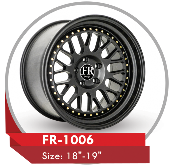 FR-1006 CUSTOM DESIGN 18 & 19 INCH ALLOY WHEELS