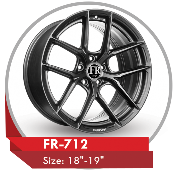 FR-712 CUSTOM DESIGN WHEELS