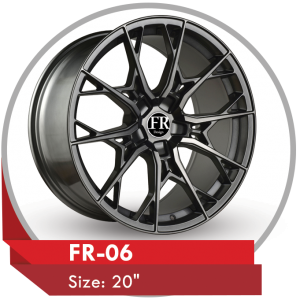 FR-06 CUSTOM DESIGN 20 INCH ALLOY Rims