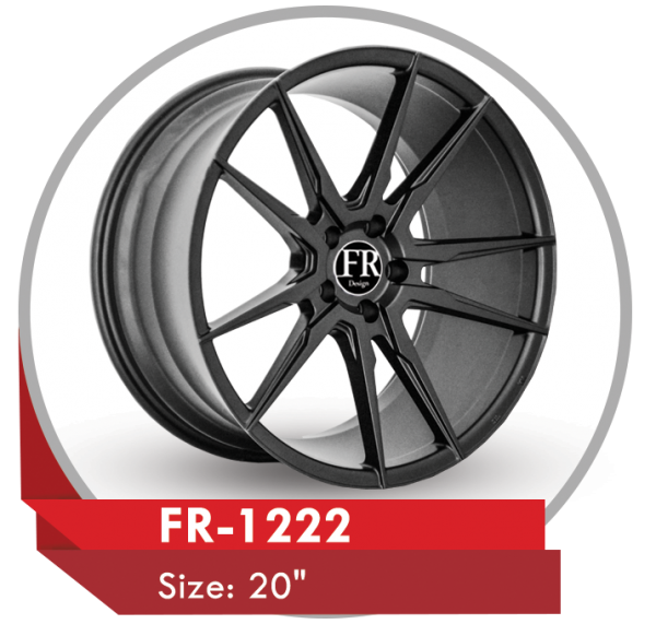 FR-1222 CUSTOM DESIGN 20 INCH ALLOY WHEELS