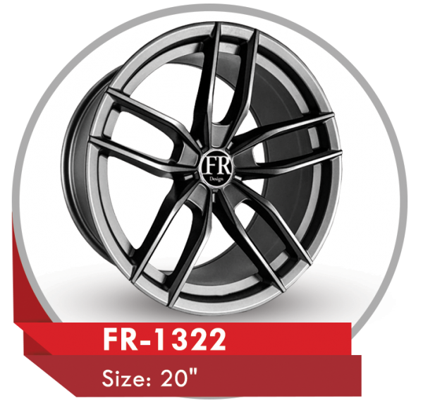 FR-1322 CUSTOM DESIGN 20 INCH ALLOY WHEELS