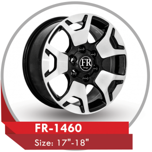 FR-1460 ALLOY WHEEL FOR TOYOTA HILUX TRUCKS