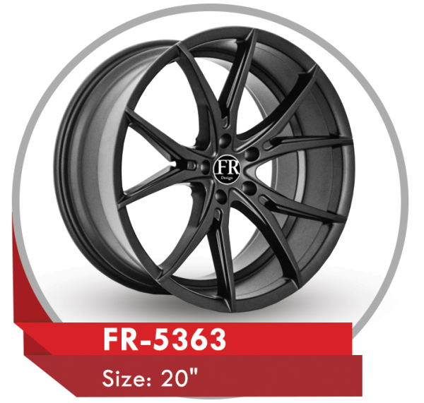 FR-5363 CUSTOM DESIGN 20 INCH OFF-ROAD ALLOY WHEELS