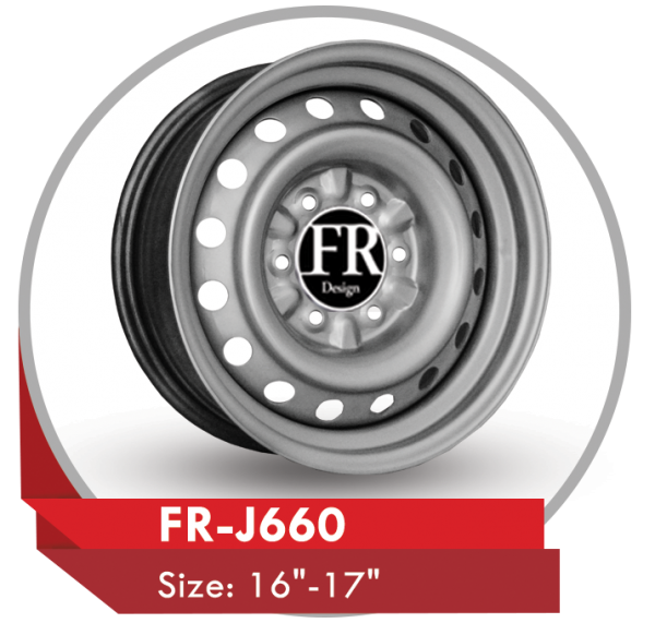 FR-J660 AFTERMARKET 16 & 17 INCH STEEL WHEELS