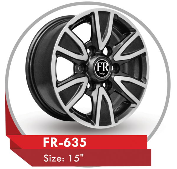 FR-635 ALLOY WHEEL FOR TOYOTA HILUX PICKUP TRUCKS