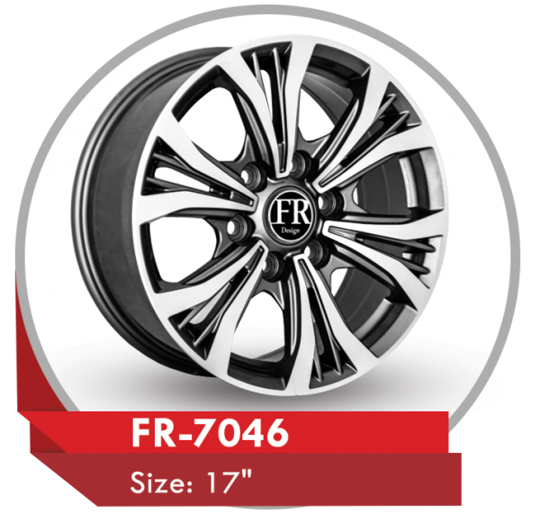 FR-7046 ALLOY WHEEL FOR TOYOTA HILUX PICKUP TRUCKS