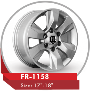 FR-1158 ALLOY WHEEL FOR TOYOTA HILUX PICKUP TRUCKS