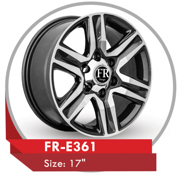 FR-E361 ALLOY WHEEL FOR TOYOTA FORTUNER SUV CARS