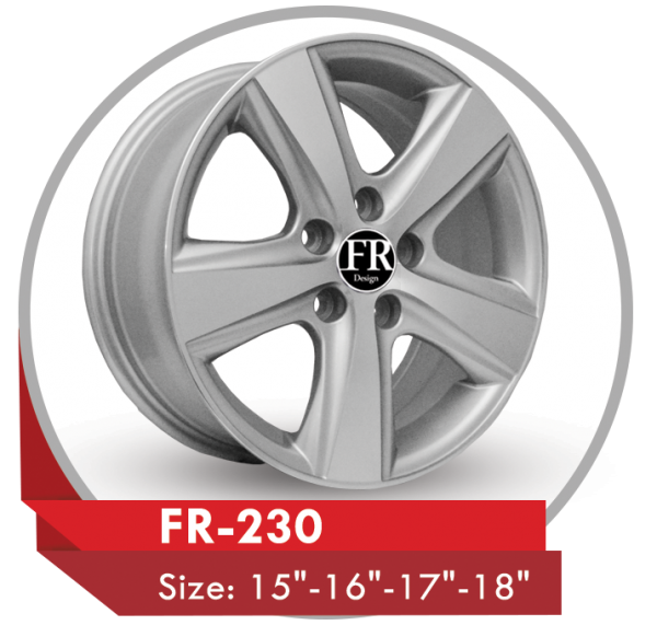 FR-230 ALLOY WHEEL FOR TOYOTA CAMRY CARS