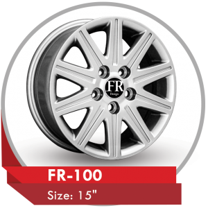 FR-100 ALLOY RIM FOR TOYOTA CAMRY CARS