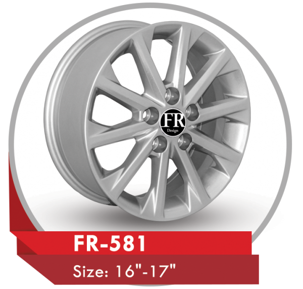 FR-581 ALLOY RIM FOR TOYOTA CAMRY CARS