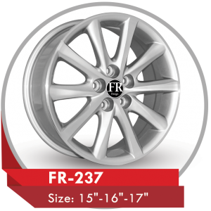 FR-237 ALLOY RIM FOR TOYOTA CAMRY CARS