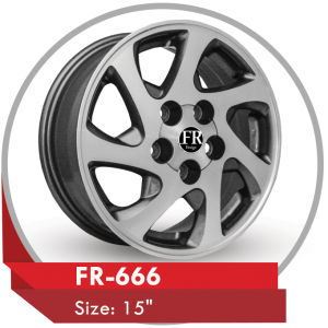 FR-666 ALLOY WHEEL FOR TOYOTA CAMRY